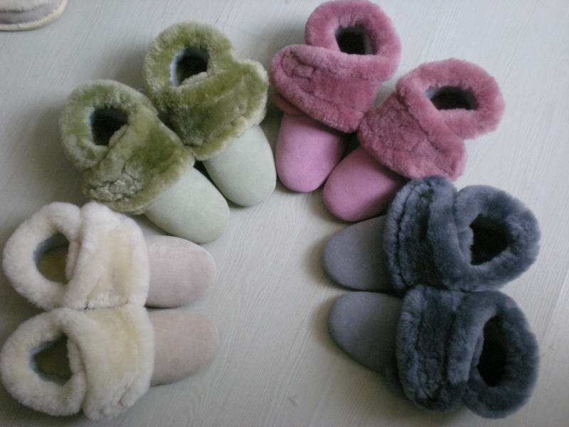 <b>羊毛鞋 sheepskin shoes</b>